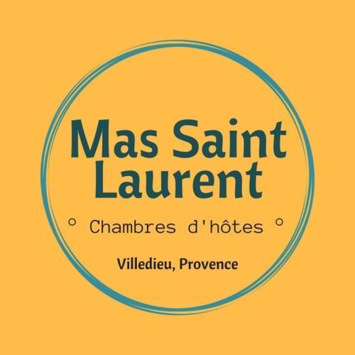 le Mas Saint Laurent : Bed and Breakfast near Saint-Maurice-sur-Eygues