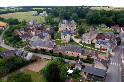 Chateau Celle Guenand : Bed and Breakfast near Saint-Flovier