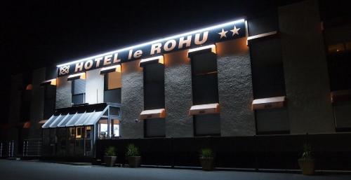 Hôtel le Rohu : Hotel near Theix