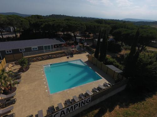 Camping Figurotta : Guest accommodation near Villedaigne