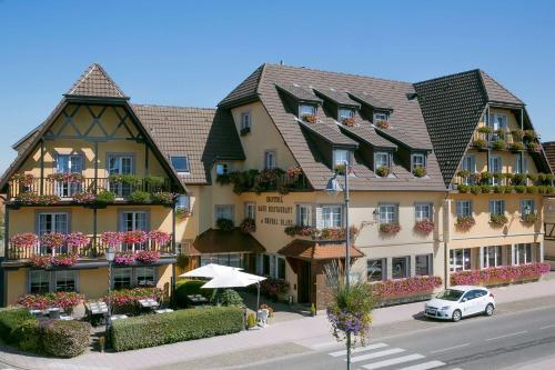 Best Western Hotel Au Cheval Blanc Mulhouse Nord : Hotel near Baldersheim