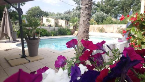 chambres d'hotes villa EDEN : Bed and Breakfast near Cadolive