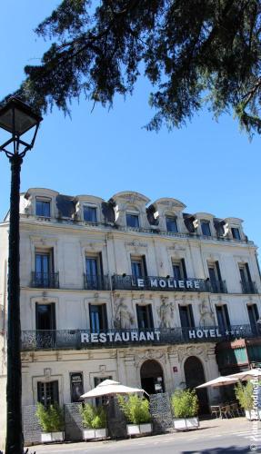 Le Grand Hôtel Molière : Hotel near Nézignan-l'Évêque