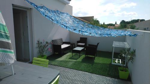 Apartment ,bedroom Agde 34300 : Apartment near Bessan