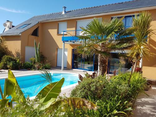 La Maison Bleu : Guest accommodation near Porspoder