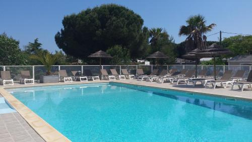 Camping le Brouet : Guest accommodation near Agde