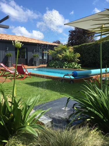 Chambres d'hôte Ô Bois Plage : Guest accommodation near Biganos