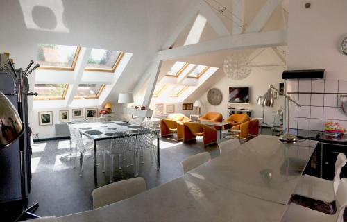 Le Loft en Champagne SAUNA-JACUZZI REIMS/EPERNAY : Apartment near Chigny-les-Roses
