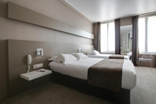 Logis Le Renard Chalons Centre : Hotel near Somme-Tourbe