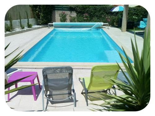 Villa Del Sol : Guest accommodation near Sainte-Colombe-de-la-Commanderie