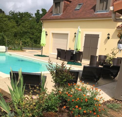 La contemporaine : Guest accommodation near Cazoulès