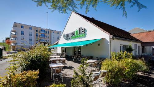 Campanile Genève - Ferney-Voltaire : Hotel near Ornex