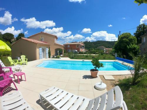 Gite ARCADIA : Apartment near Meyrannes