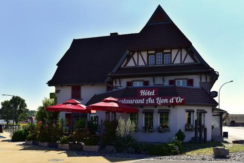 Au Lion d'Or : Hotel near Guewenheim
