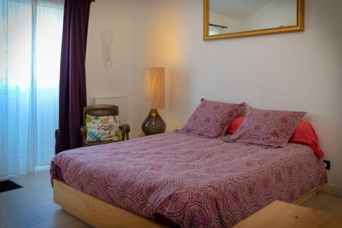 La chambre des ponts de Pierre et Barbara : Guest accommodation near Sainte-Luce-sur-Loire