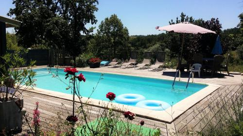 Poujol : Guest accommodation near Montfermier