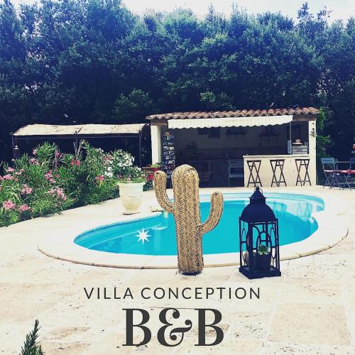 B&B - Villa Conception - Chambre d'hôtes Atypique : Bed and Breakfast near Aups
