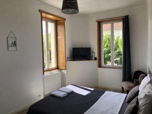Chambre Chez Anthony et François : Guest accommodation near Nercillac