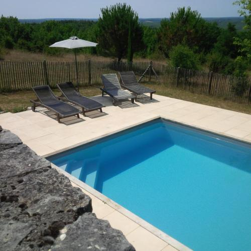 Mas de Christel : Bed and Breakfast near Tour-de-Faure