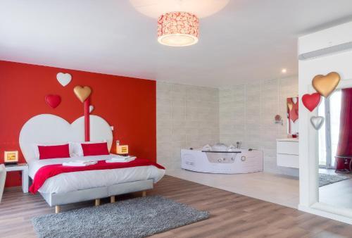 Domaine des Pierres Dorées : Guest accommodation near Oingt