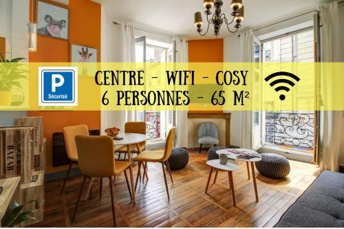 La Gargouille - Les Belles Vues : Apartment near Dijon