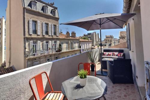 LES APPARTEMENTS D'EDMOND ST SEBASTIEN : Apartment near Marseille 6e Arrondissement