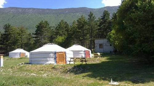 Les Steppes du Khaan : Guest accommodation near Moriez