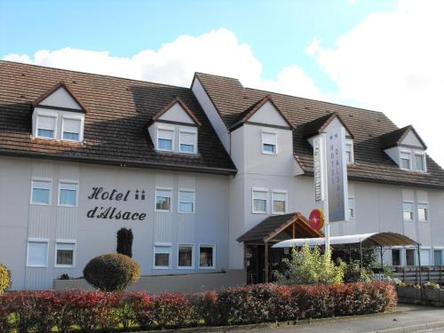 Citotel Hôtel d'Alsace : Hotel near Keffenach