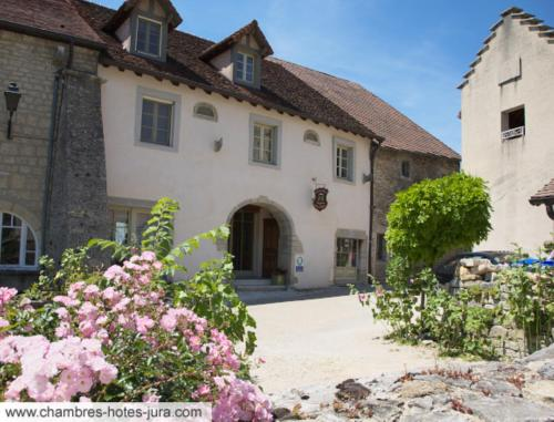 Le Relais des Abbesses : Bed and Breakfast near Courbouzon