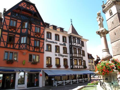 Hotel La Diligence : Hotel near Bischoffsheim