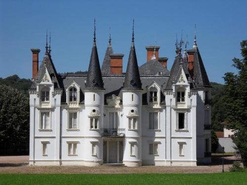 Château de la Motte : Bed and Breakfast near Saint-Julien-de-Jonzy