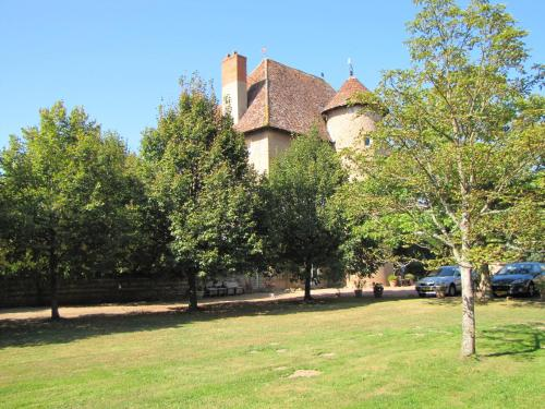 Chateau de Tigny : Bed and Breakfast near Saint-Julien-de-Jonzy