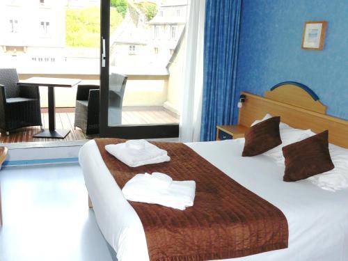 Brit Hotel Du Ban : Hotel near Brion