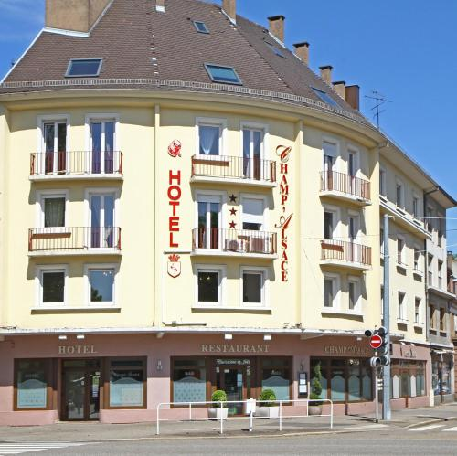 Hôtel Champ' Alsace Centre : Hotel near Biblisheim