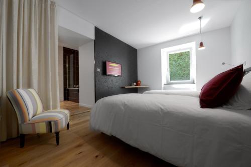La Bonne Auberge : Hotel near Fontenelle-Montby