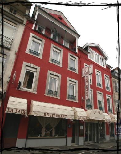 Hôtel de La Paix : Hotel near Bagnères-de-Bigorre