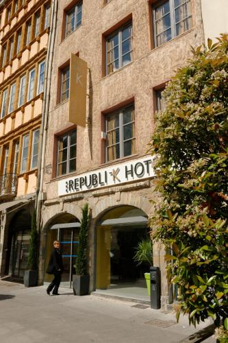 Republik Hotel : Hotel near Lyon