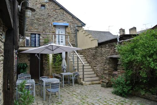L 'Annexe : Guest accommodation near La Chapelle-Bouëxic