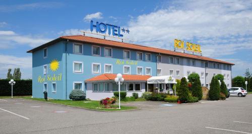 Hotel Roi Soleil Mulhouse Sausheim : Hotel near Baldersheim