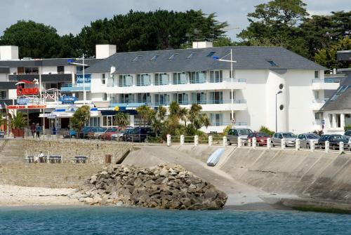 Résidence Pierre & Vacances La Corniche de La Plage : Guest accommodation near Bénodet