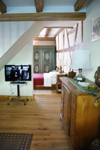 Gîtes les bains : Apartment near Riquewihr