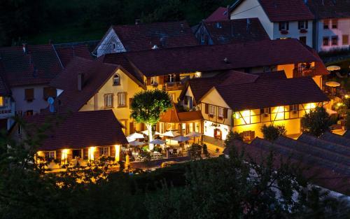 Hotel Restaurant Auberge Metzger : Hotel near Lutzelhouse