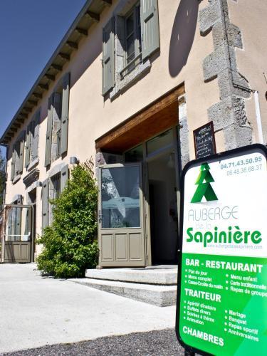 Auberge de la Sapinière : Guest accommodation near Lieutadès