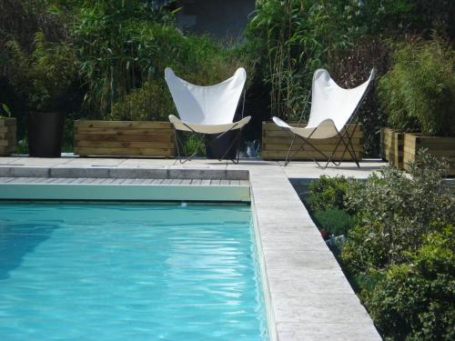 Hotel les Jardins de Brantôme : Hotel near Vieux-Mareuil