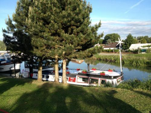 Péniche Nidd : Guest accommodation near Saint-Cosme