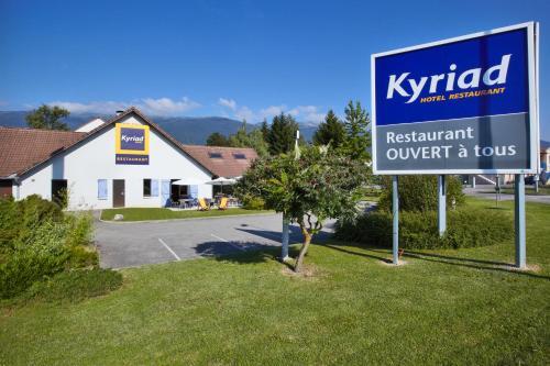 Kyriad Genève St-Genis-Pouilly : Hotel near Chevry
