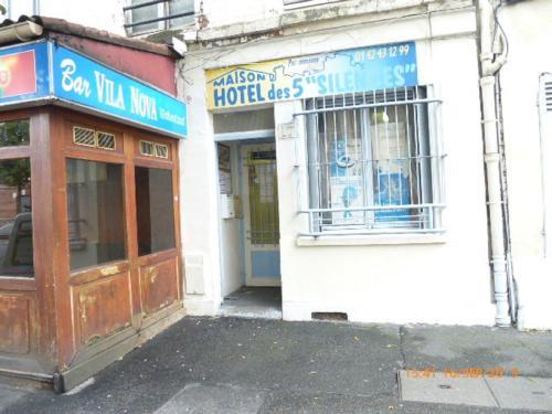 Maison Hôtel des 5 Silences : Hotel near Andilly
