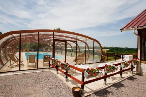 Domaine Des Grandes Cotes : Guest accommodation near Buxières-sous-Montaigut