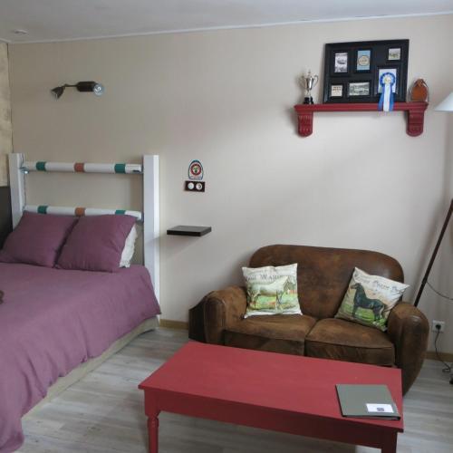Le Pied à l'Etrier : Apartment near Bailleval