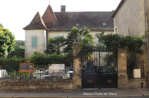Maison Porte del Marty : Bed and Breakfast near Lalinde
